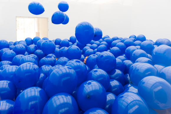 Martin Creed, foto A. van Kaam, via museum Voorlinden